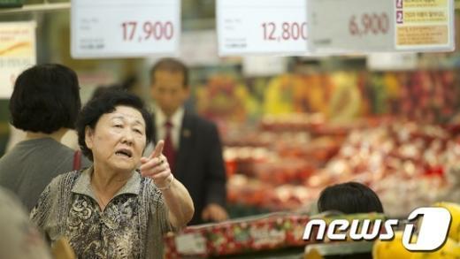 [사진]'이게 진짜 채소 가격이야?'