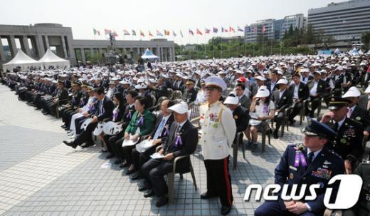 [사진]6.25전쟁 62주년 중앙기념식
