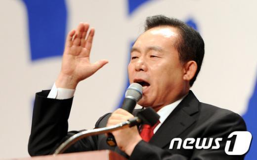 이인제 선진통일당 대표. 2012.5.29/뉴스1  News1 양동욱 기자