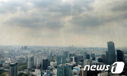 [사진]'서울 흐림'