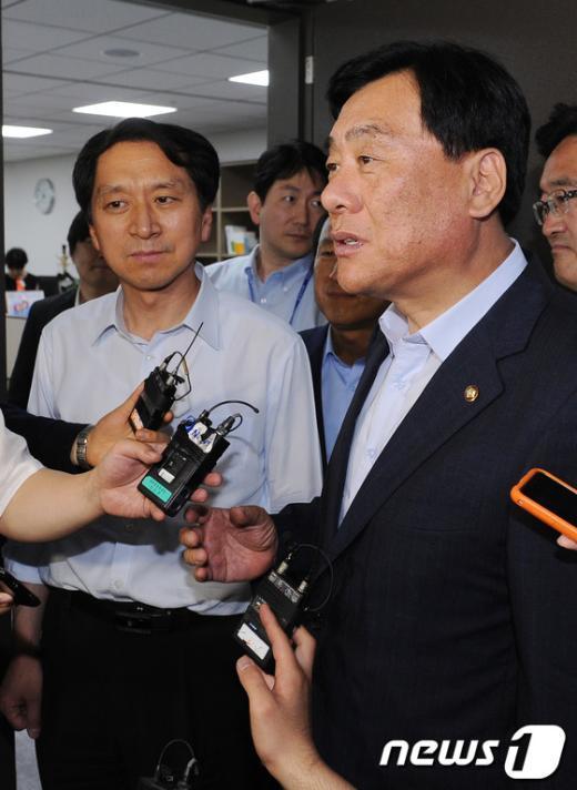 [사진]19대 국회 개원 협상안 '사실상 타결'