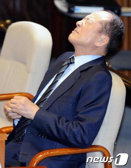 이상득 전 새누리당 의원. 2012.5.2/뉴스1  News1 박정호 기자