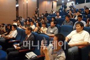 이날 간담회에는 신화통신 인민일보 CCTV 등 중국이 대표 언론사에서 90여명의 기자가 참석했다.