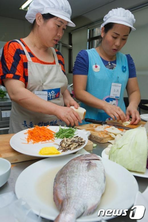 [사진]'자신만만 한국요리대회'