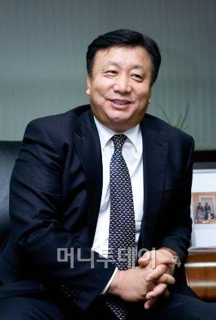 ↑박민관 우양에이치씨 대표이사