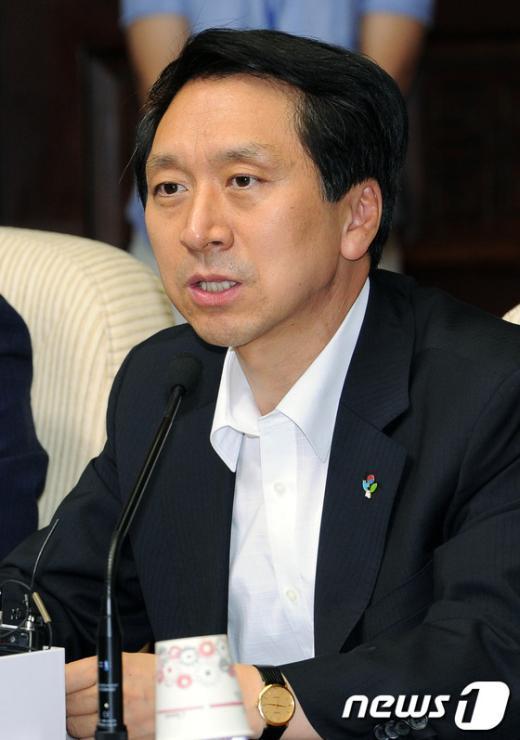 김기현 새누리당 원내수석부대표. 2012.6.26/뉴스1  News1 이종덕 기자