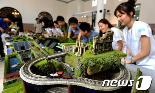 [사진]코레일, 제1회 철도문화체험전 개최