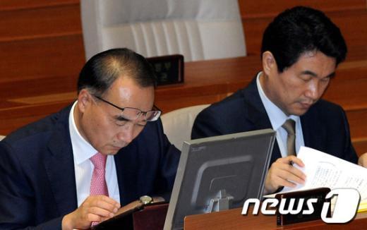 [사진]박재완 장관의 스타일