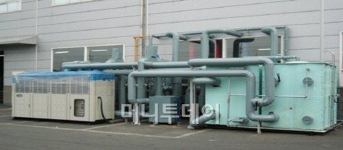 위닉스 지열펌프 테스트장비.