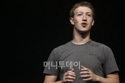 ↑마크 저커버그 페이스북 창업자 [AFP=뉴스1]