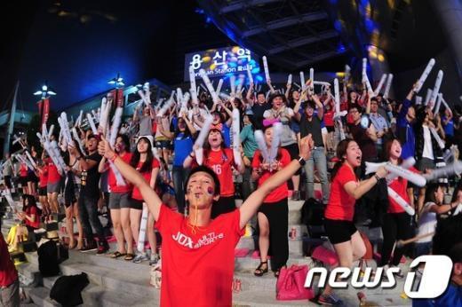 [사진]'대한민국 이겼다'