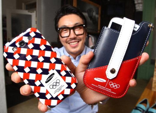 삼성, 갤럭시S3 올림픽 액세서리 한정 이벤트