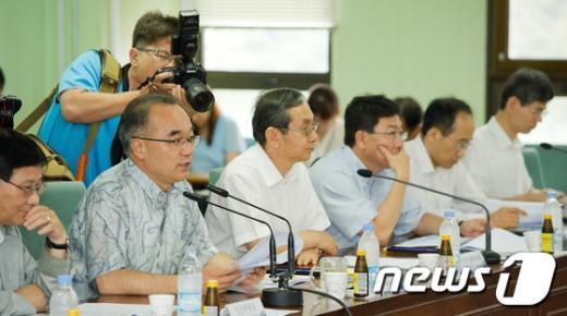 [사진]모두발언하는 박재완 기획재정부 장관