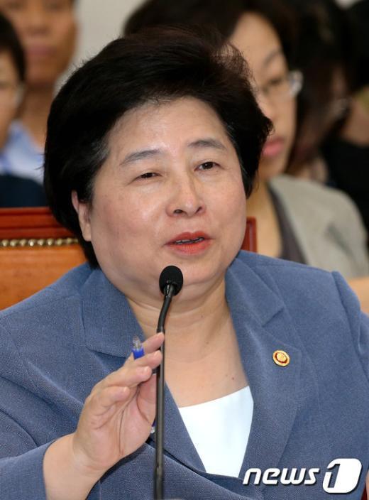 [사진]답변하는 김금래 장관