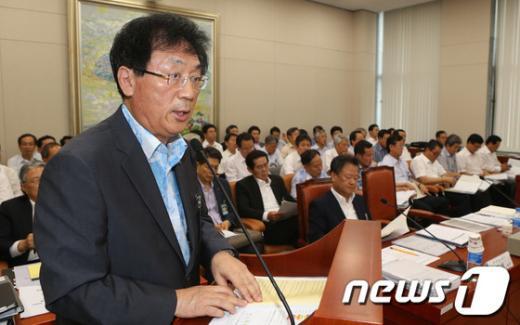 [사진]국회 지경위, 한국전력거래소 업무보고