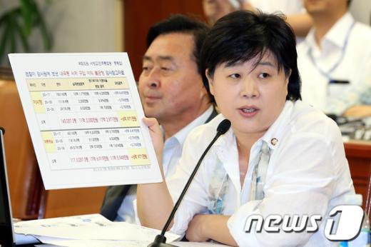 [사진]국회운영위 질의하는 서영교 의원