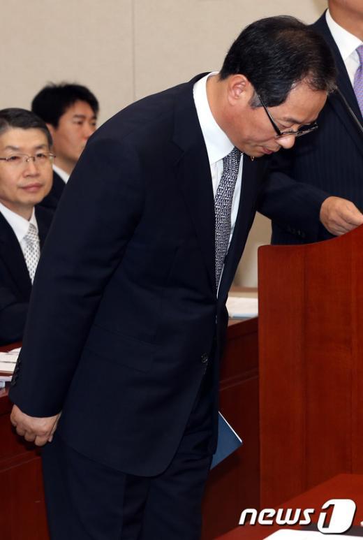 [사진]인사하는 경찰청장