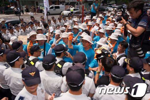 [사진]'한일군사협정' 폐기하라!