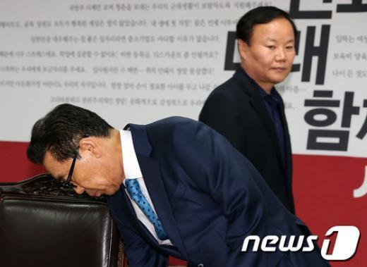 [사진]'공천헌금' 진상조사위, 김재원 위원