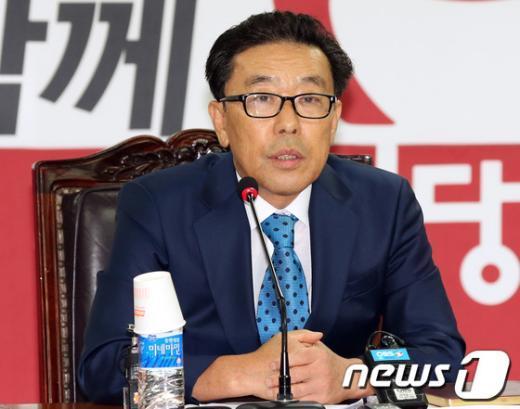 [사진]'공천헌금' 진상조사위 여는 이봉희 위원장