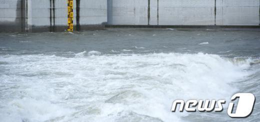 [사진]수위 높아진 임진강