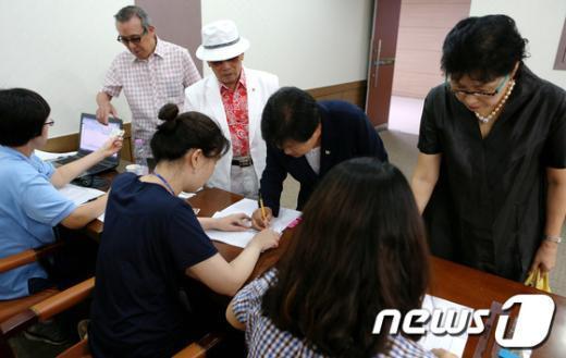 [사진]선거인들의 표심은?