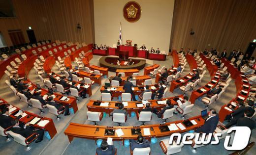[사진]국회 예산결산위원회 전체회의