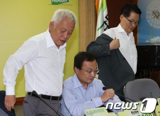 [사진]민주통합당 최고위원회의