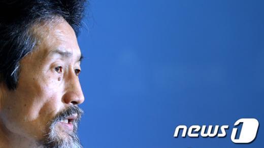 """[사진]강기갑 대표 """"구당권파의 백의종군 요구"""""""