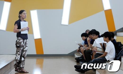 [사진]드와이트 서울 외국인학교 오리엔테이션