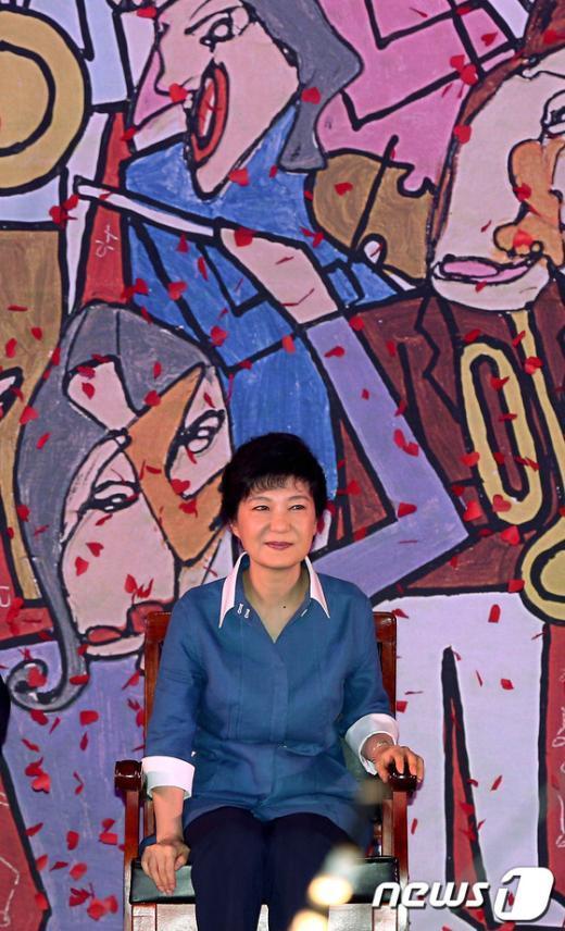 [사진]새누리당 대선 후보는 박근혜