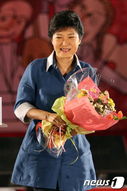 [사진]새누리당 대선후보 박근혜