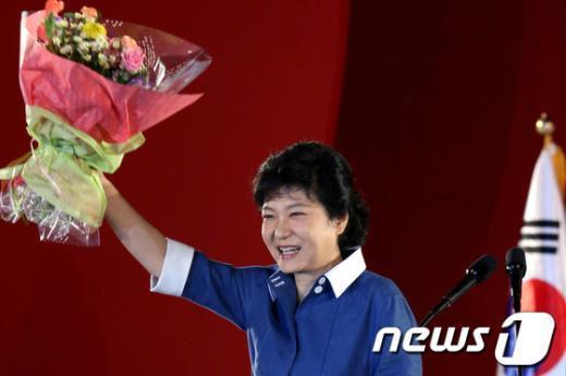 [사진]'승자' 박근혜