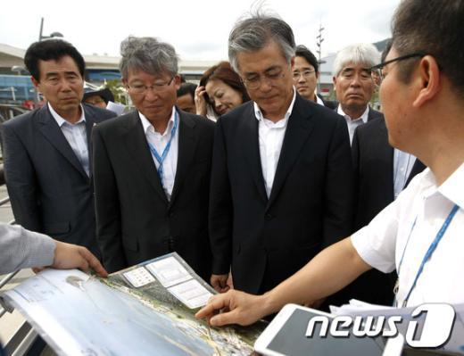 [사진]문재인, 여수엑스포 방문