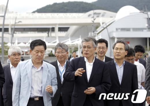 [사진]여수엑스포 활용방안 관련 환담