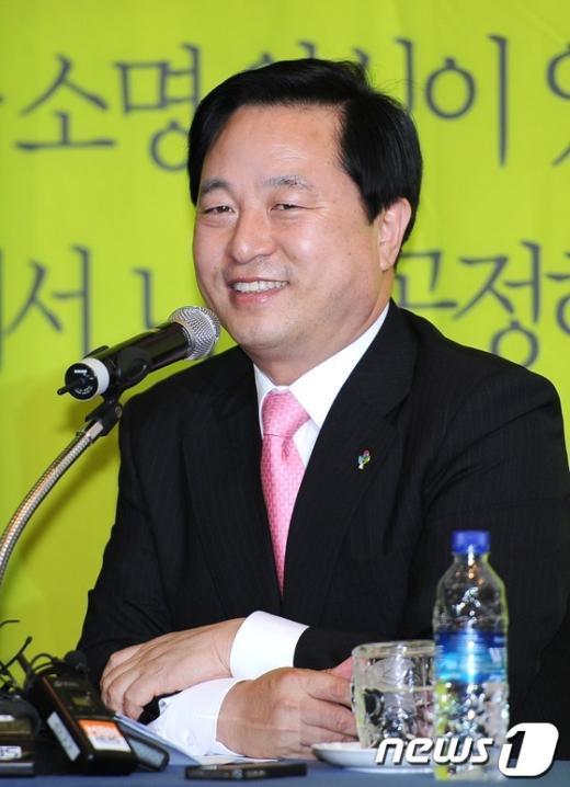 김두관 민주통합당 대선경선 후보 2012.6.12/뉴스1  News1 박철중 기자