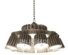 ↑KMW의 LED조명 고천장등 제품 '루나'