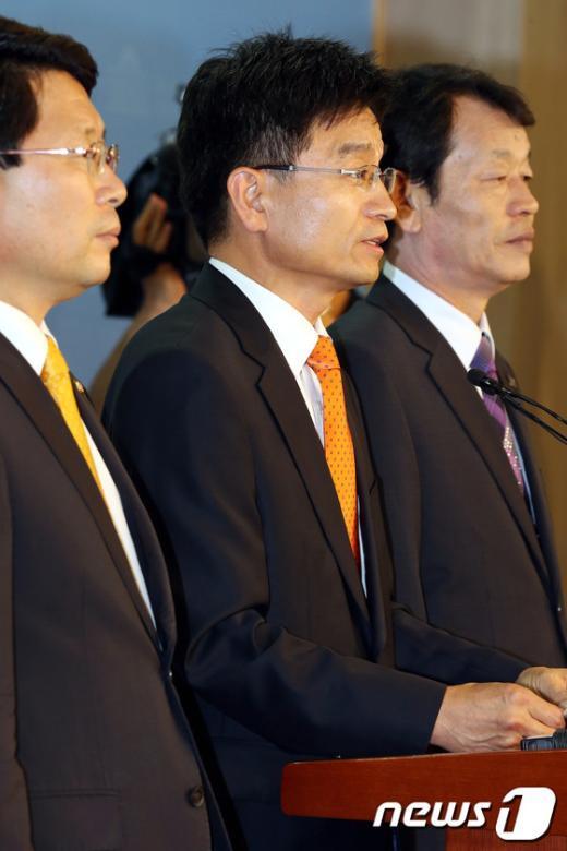 [사진]대선출마 선언한 민병렬 통합진보당 전 대표직무대행
