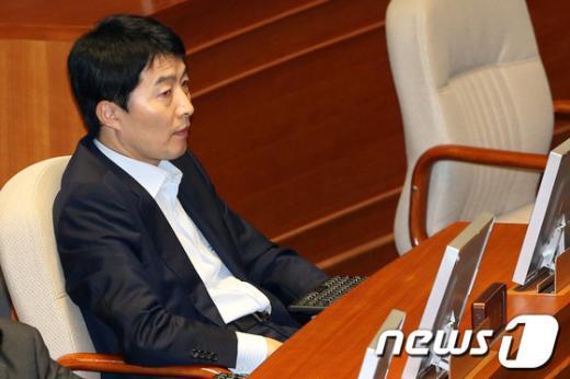 통합진보당 이석기 의원  News1 이광호 기자