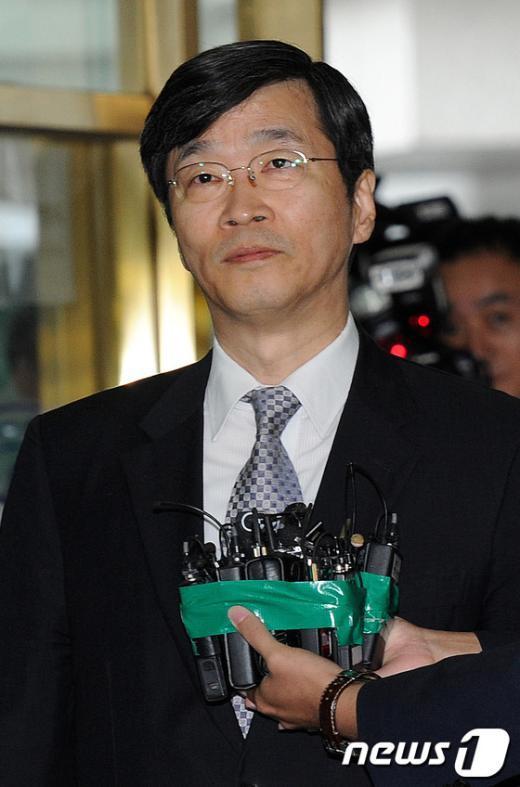 [사진]곽노현, '운명의 날'