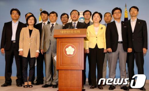 [사진]새 진보정당 창당선언 기자회견