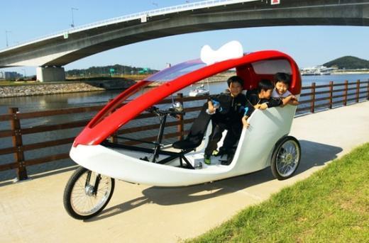 자전거 택시 (bicyclekorea)  News1