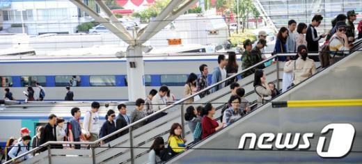 [사진]돌아온 시민들