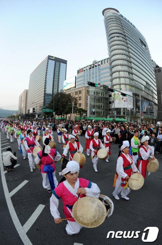 [사진]하이서울페스티벌 2012 개막