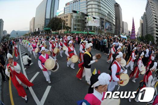 [사진]하이서울페스티벌 2012 축제의 시작