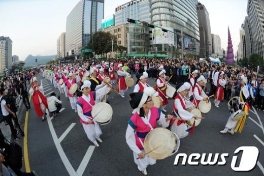 [사진]하이서울페스티벌 2012, 화려한 축제의 시작