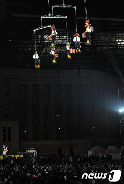 [사진]아찔한 공중공연
