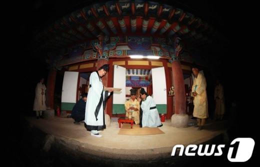 [사진]함양군, 남계서원 추향제 봉행
