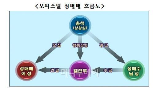강남 오피스텔 수십개 임대 성매매로 1년 30억