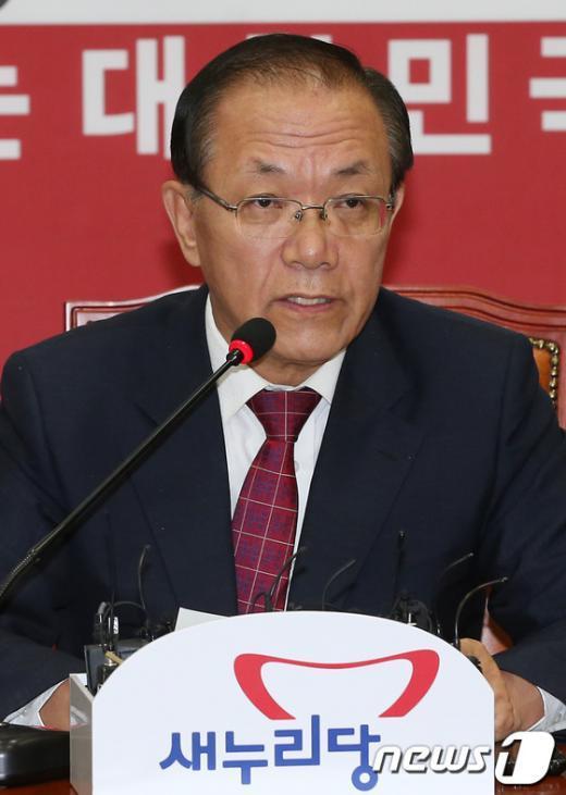 황우여 새누리당 대표 2012.9.24/뉴스1  News1 양동욱 기자